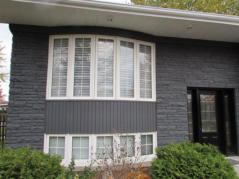 Painting Exterior Stone Siding Prex Montreal South Shore Laval