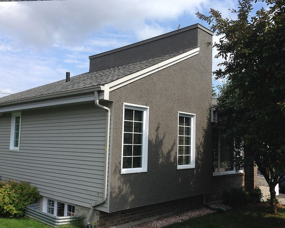 Pvc vinyl siding painting services prex montreal for Peinture revetement exterieur