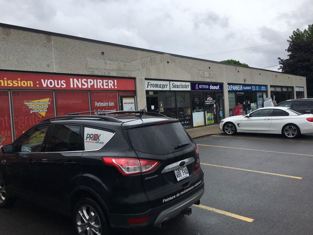 Prex peinture extérieure commercial industriel peinture spray peintres extérieurs expérience Montréal Laval Rive-Sud